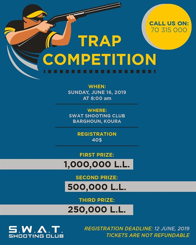 SWAT Shooting Club Announces Trap Competition Details