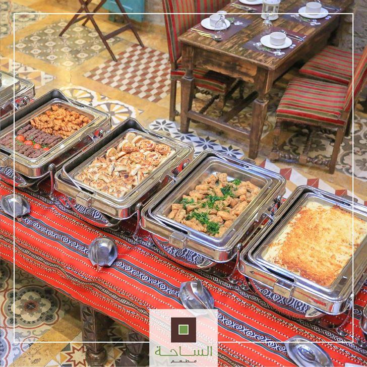 عرض إفطار مطعم الساحة  اللبناني خلال رمضان 2019