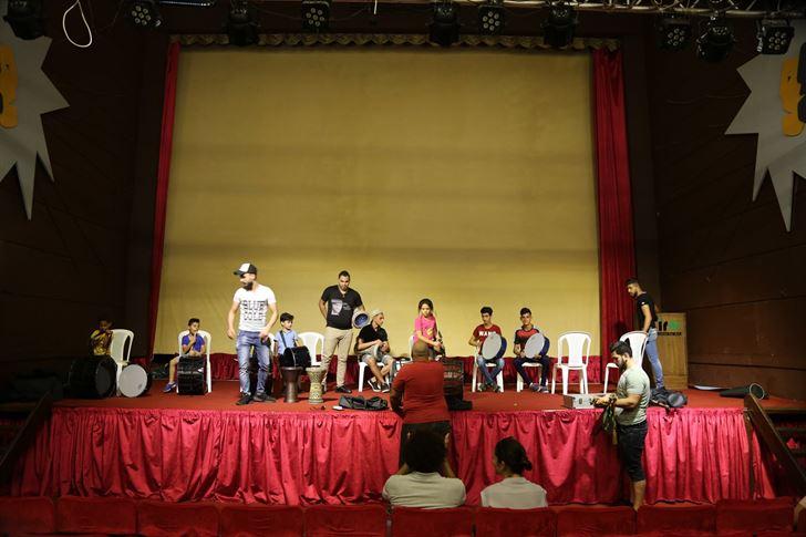 اختتام فعاليات مهرجان تعزيز المهارات الفنية في جنوب لبنان