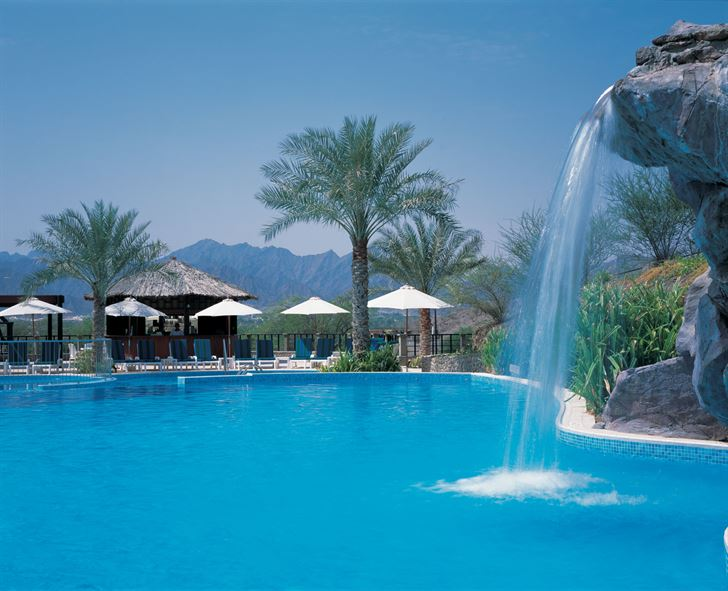 Hatta Fort Hotel - Rockpool Fall