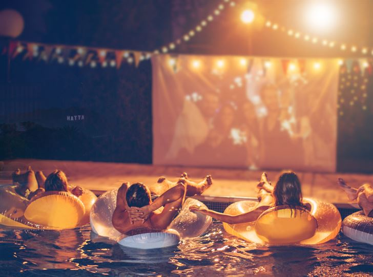 Movie Nights at JA Hatta Fort Hotel