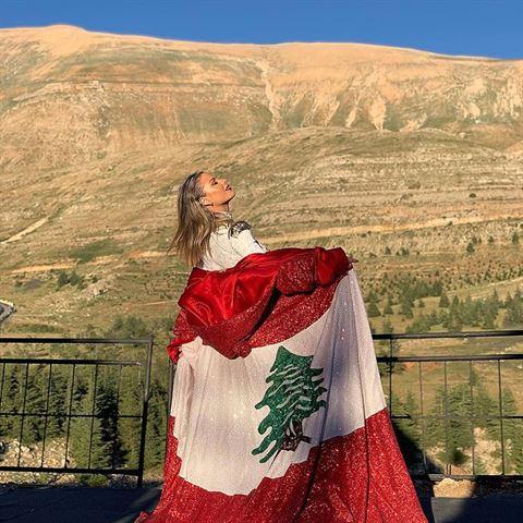 "Pamela El Kik at ""Smile Lebanon"" Cedars International Festival"