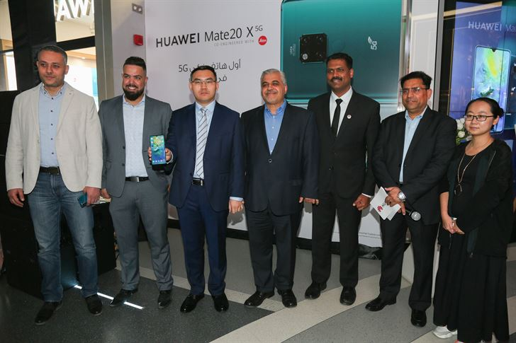 Huawei launches the first 5G Smartphone in Kuwait