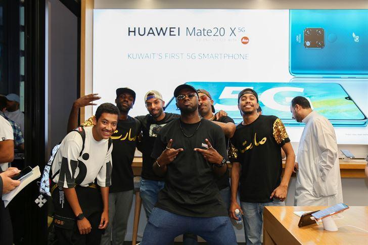هواوي تطرح هاتف (Huawei Mate 20 X 5G) في الكويت