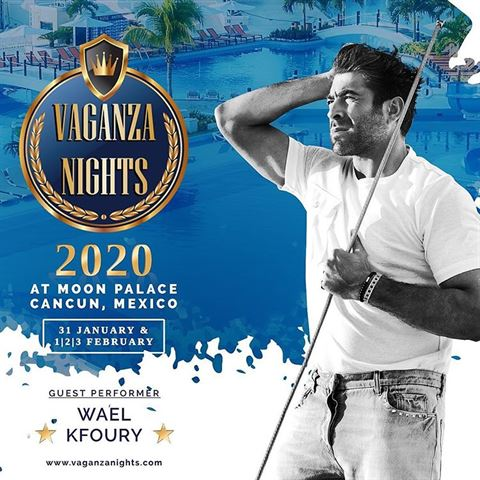 Wael Kfoury Will be at Vaganza Nights 2020 in Mexico
