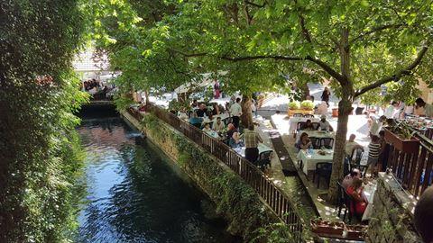 الصورة 61062 بتاريخ 3 أغسطس / آب 2019 - مطعم شلالات نبع مرشد - المختارة، لبنان