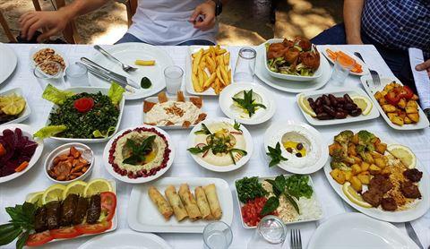 الصورة 61070 بتاريخ 3 أغسطس / آب 2019 - مطعم شلالات نبع مرشد - المختارة، لبنان
