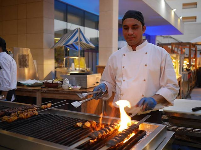 BBQ Night Started at Radisson Blu Hotel every Wednesday