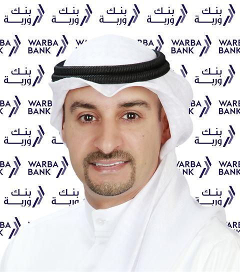 السيد أيمن سالم المطيري  - المدير التنفيذي للاتصال المؤسسي في بنك وربة