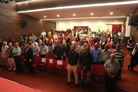 افتتاح مهرجان أيام فلسطين الثقافية في المسرح الوطني اللبناني
