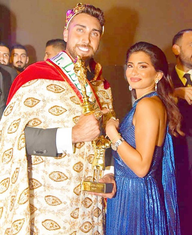 Mohamad Sandakli Winner of Mr Lebanon Title for 2019 - 2020