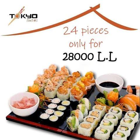 Photo 64976 on date 15 January 2020 - Tokyo Sushi Restaurant - Achrafieh (Mar Mikhael), Lebanon