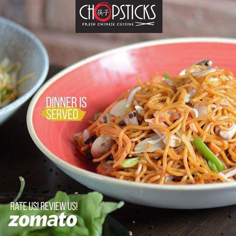 """""""Chopsticks"""" لمحبي المأكولات الصينية"""