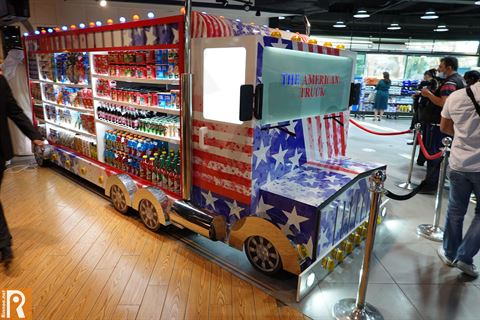 The American Truck | Kuwait Agro, Qurtoba Coop and The US Embassy Celebrate Partnership