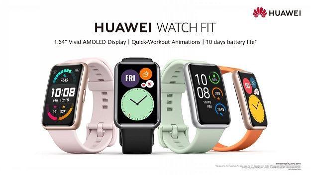 الساعة الأكثر مبيعاً WATCH FIT HUAWEI تتوفر مجدداً في الكويت