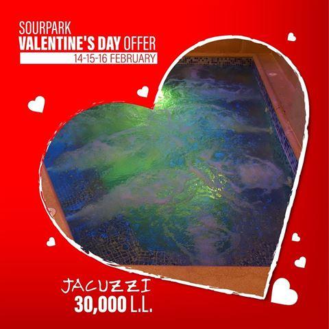 Sour Park يقدم لكم عروضات كبيرة بمناسبة عيد الحب!
