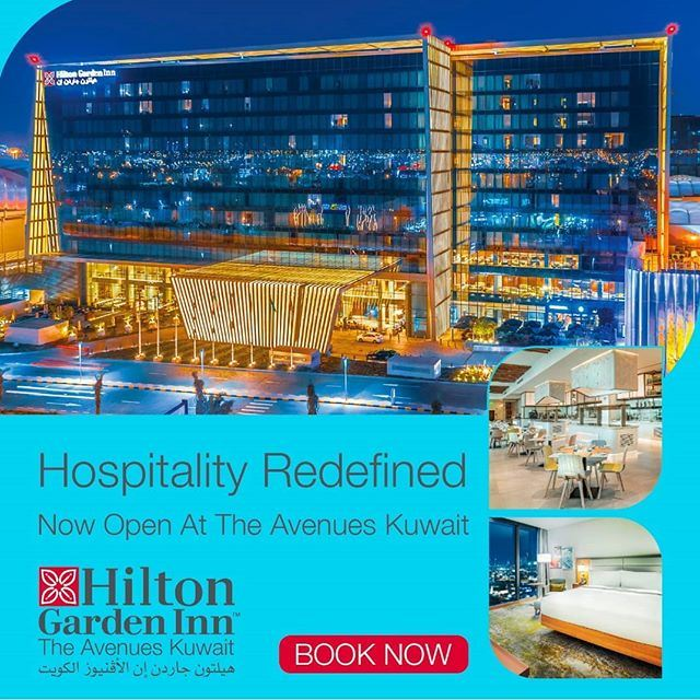 Hilton Garden Inn Kuwait Hotel Now Open at The Avenues Kuwait