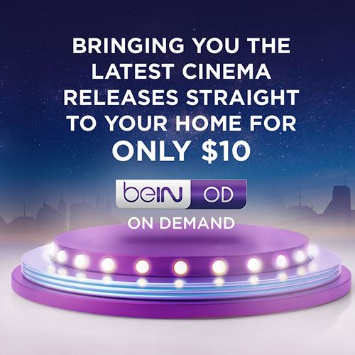 Discover Latest Movies through beIN ON DEMAND