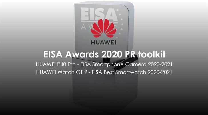 """فازت هواوي بجائزتي EISA عن """"أفضل كاميرا هاتف ذكي"""" مع هاتف HUAWEI P40 Pro و """"أفضل ساعة ذكية"""" مع ساعة HUAWEI WATCH GT 2"""