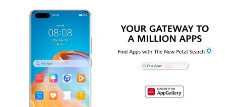Petal Search: The new app platform that complements HUAWEI AppGallery with access to a million apps