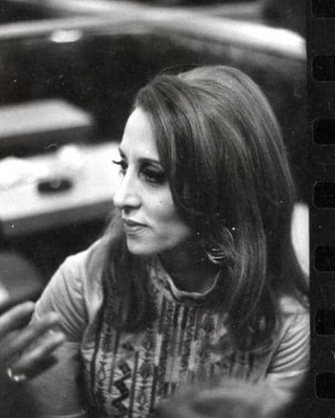 Unique Photos for Legendary Singer Fairouz back in Year 1971