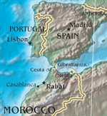 بدأ التدخل الإسباني في المغرب.