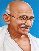 مهاتما غاندي ينسحب من المؤتمر الوطني الهندي.