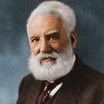 ألكسندر جراهام بيل يسجل براءة اختراع الهاتف.<br />