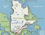 Quebec is the largest province in Canada.