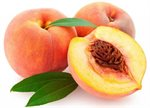The first fruit eaten on the moon was a peach.